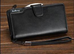 Мужской кошелек Baellerry Business Black (120604)