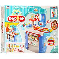 Игровой набор юного Доктора, со столиком, и медицинскими инструментами, 25 деталей