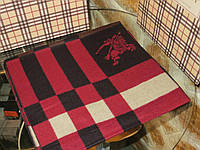 Стильный брендовый мужской кашемировый двусторонний шарф Барбери премиум класс