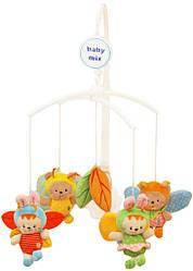 Музыкальный детский мобиль с плюшевыми игрушками механический Baby mix 421M, Пчелки (8037)