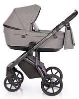 Детская универсальная коляска 2 в 1 Roan Bloom Titanium, серая (9786)