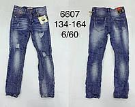 Джинсы для мальчиков F&D оптом, 134-164 рр. Артикул: 6607