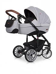 Универсальная детскаяколяска 2 в 1 Euro-Cart Delta, серая (8891)