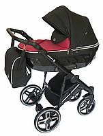 Универсальная коляска детская Broco Monaco 2 в 1, розовая (9597)
