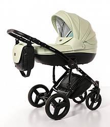Детская универсальная коляска Broco Dynamiko 2 в 1, мятная (7084)