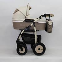 Детская универсальная коляска 3 в 1 Verdi Sonic 13 капучино/молочный (1574)