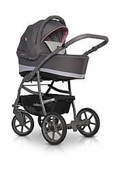 Универсальная детская коляска 2 в 1 Colibro Focus, розовая (10050)
