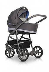 Детская универсальная коляска 2 в 1 Colibro Focus, голубая (10057)