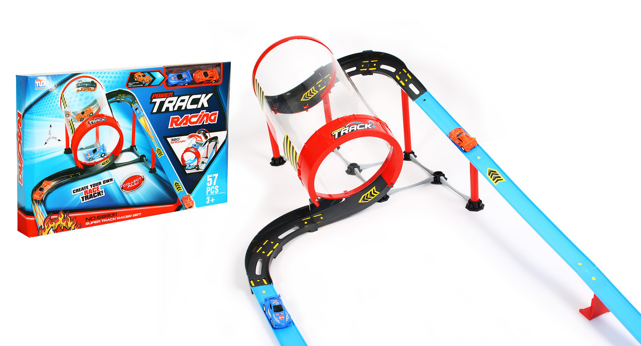 Игровой гоночный трек Qunxing Toys Труба 57 деталей