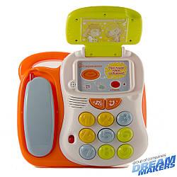 Детская развивающая игрушка говорящий телефон Mommy Love (TT13)