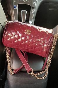 Клатч женский стеганый розовый 19 х 10 х 10 см 0288