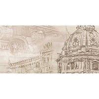 Плитка Golden Tile Savoy Coliseum бежевый декор №3 401331 30x60