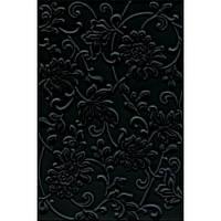 Плитка для стен Kerama Marazzi Аджанта Цветы 8217 20*30 черная