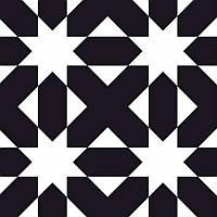 Плитка для стен Керамин Фристайл 5М 20*20 черная-белая