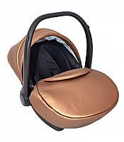 Автокресло детское 0-13 кг. Verdi Mirage Eco Premium, золотое (8601)