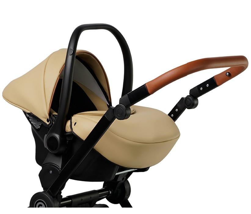 Автокресло-коляска для новорожденных с ручкой 0-13 кг. Verdi Futuro 04 Desert Sand, бежевое (8777) Польша