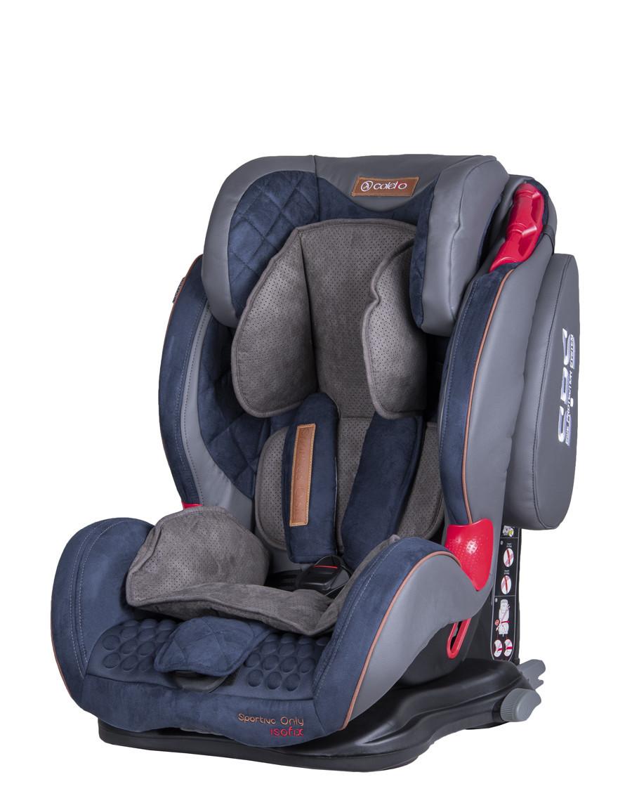 Автокресло детское Coletto Sportivo Only Isofix 9-36, blue/navy (9193)