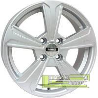 Литой Диск Tech Line TL 575 6x15 4x100 ET48 DIA54.1 Silver (Серебро)