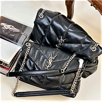 Женская брендовая кожаная сумка  Kate Monogram
