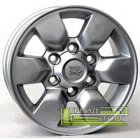 Литой Диск WSP Italy Toyota (W1761) Aomori 7x15 6x139.7 ET30 DIA106.1 Silver (Серебро)