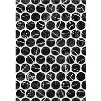 Плитка для стен Керамин Помпеи 1 Тип 1 40*27,5 черная