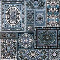 Плитка для пола Атем Aladdin ВL 40*40 голубая