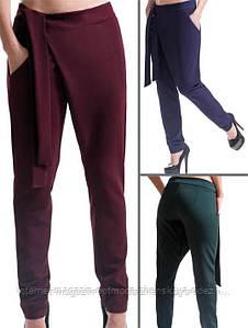 """Стильные женские брюки ассиметричные """"Вашингтон"""""""