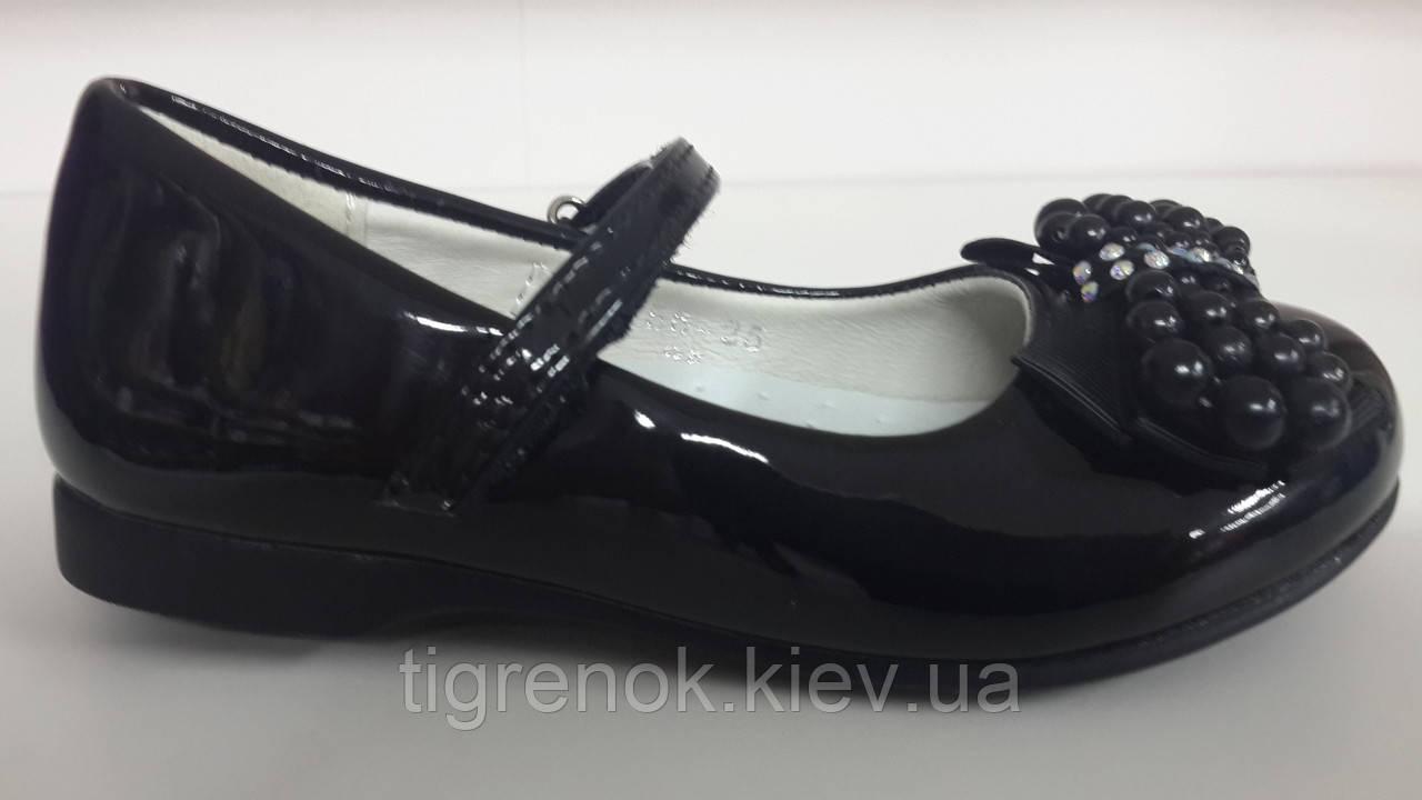 Лаковые нарядные туфли для девочек ТОМ.М. размер 25 - Тигрёнок  интернет-магазин 5e545f41d6bfb