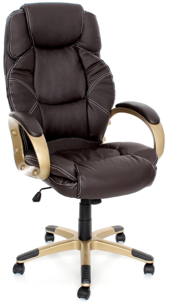 Офисное компьютерное кресло EKO C 11 механизм TILT, коричневое