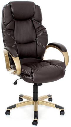 Офисное компьютерное кресло EKO C 11 механизм TILT, коричневое, фото 2
