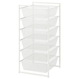IKEA Рама с проволочными корзинами JONAXEL ( 092.974.88)