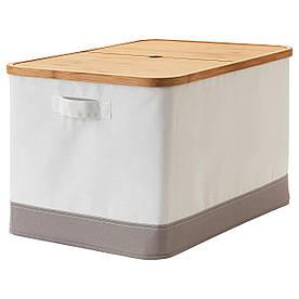 IKEA Коробка с крышкой RABBLA ( 403.481.26)