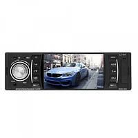Автомагнитола автомобильная головное устройство в машину MP3/MP4/DVR UKC-4204 с пультом на руль 1DIN