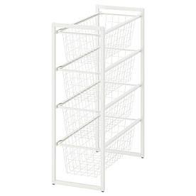 IKEA Рама с проволочными корзинами JONAXEL ( 892.971.30)