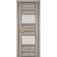 """Дверное полотно (дверь) """"ВИВА"""" Аскона (стекло сатин)"""