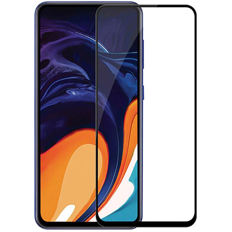 Защитное стекло Full screen PowerPlant для Samsung Galaxy A80, Black
