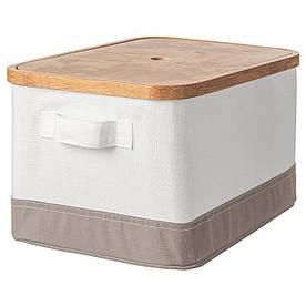 IKEA Коробка с крышкой RABBLA ( 603.481.25)