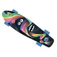 Детский скейтборд GO Travel Монстрик (с рисунком)