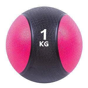 Мяч медицинский 1 кг диаметр 19 см медбол для тренировок
