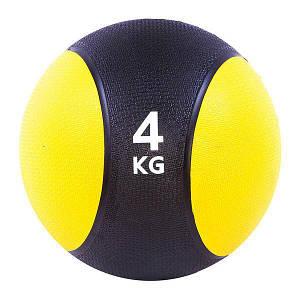 Мяч медицинский для тренировок на 4 кг диаметр 22 см для оздоровления