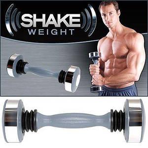 Гантель Shake weight чоловіча 1 шт 5LB (2,25 кг) +DVD