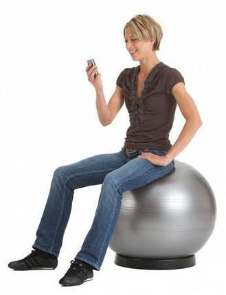 М'яч для спорту 65см GymBall KingLion великий гладкий фітбол, фото 2