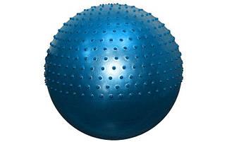 Мяч для фитнеса полумассажный 2 в1 75см s