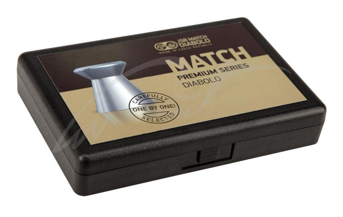 Пули пневматические JSB Match Premium MW. Кал. 4.5 мм. Вес - 0.52 г. 200 шт/уп