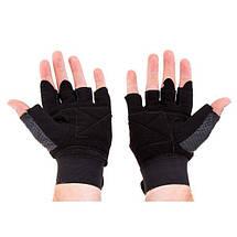 Перчатки для фитнеса Matsa Sareno мужские, фото 2