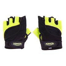 Перчатки для фитнеса Ronex NapForwayNeopren RX-05, фото 3