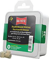 Патч для чистки Ballistol войлочный специальный для кал. 9 мм. 60шт/уп