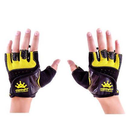 Рукавички для фітнесу CrownFit Grippy RX-04, фото 2