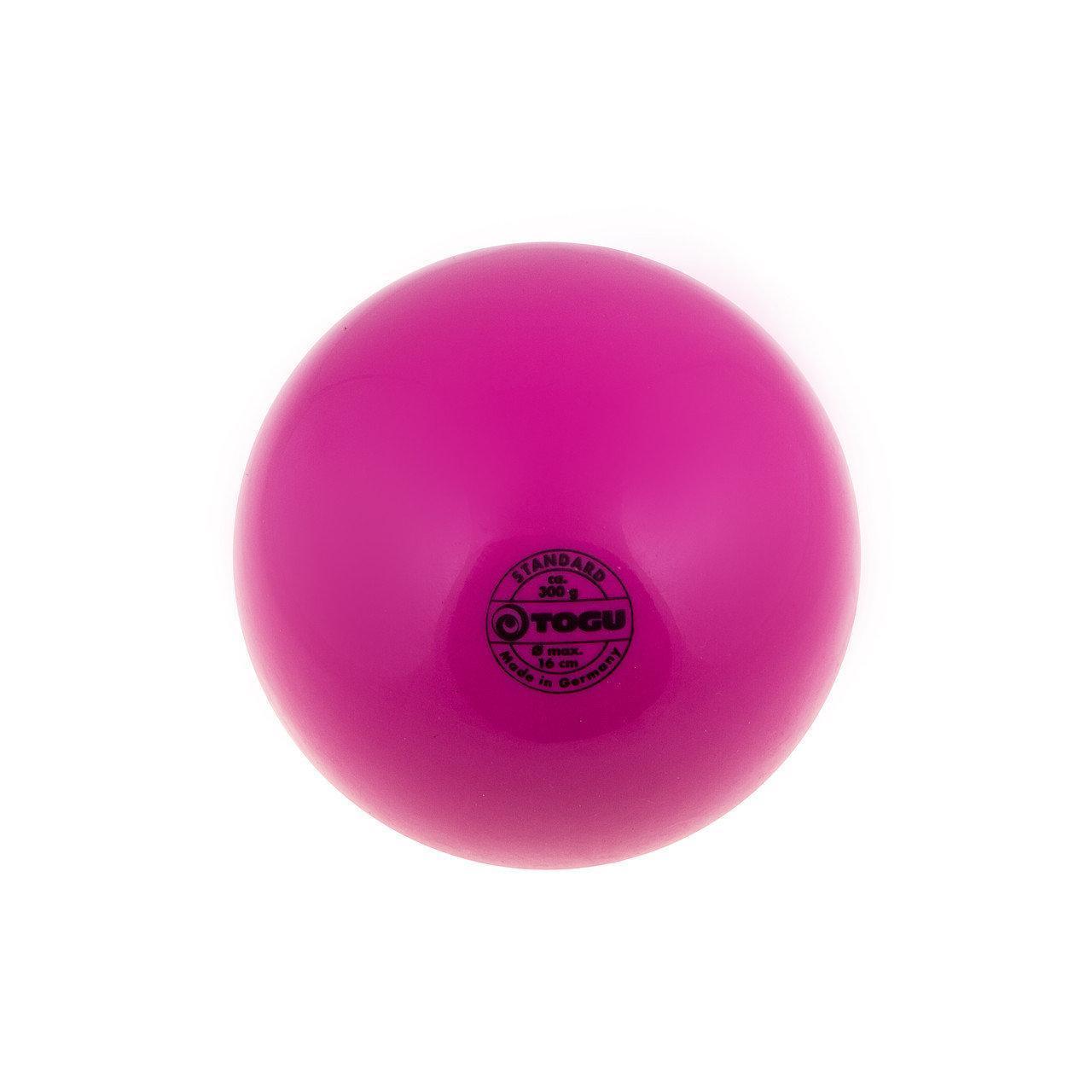 Мяч для художественной гимнастики TOGU 300 грам диаметр 16 см