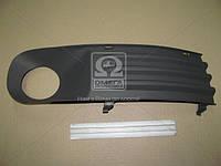 Решетка в бампер передний правая запчасти иномарки ФОЛЬКСВАГЕН T5. 2003- (пр-во TEMPEST)